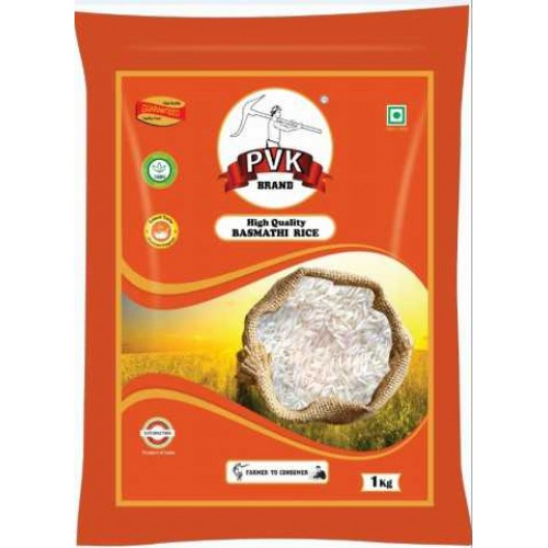 PVK High Quality Basmati Rice, 1kg