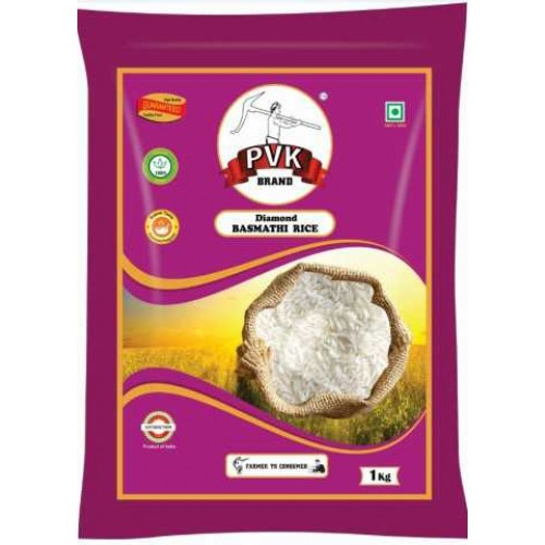 PVK Basmati Rice Diamond, 1kg